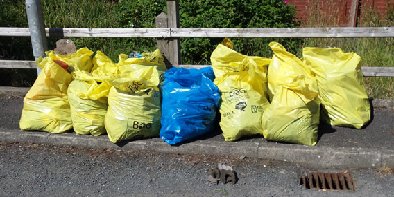 Kerb Cleaning & Litter Pick
