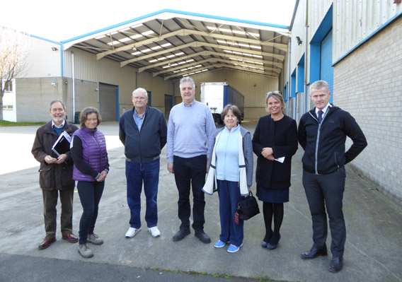 SDA Members Meet NMD Officers At Community Centre Site