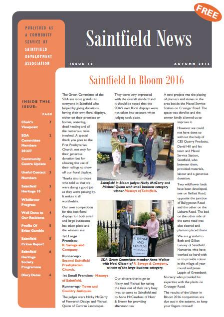Saintfield News 12