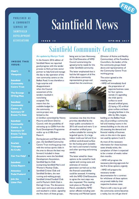 Saintfield News 13
