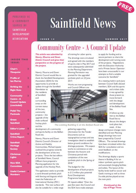 Saintfield News 14
