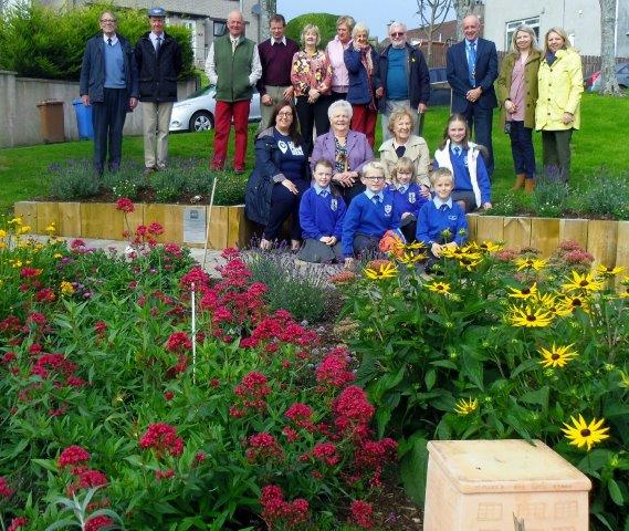 New Garden Feature In Saintfield at Queen's Park